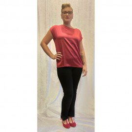 Shirt 1/2 Arm Red Scarlett