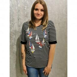 T-Shirt ½ Arm marine