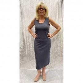 Kleid Fuschia grau