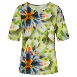 LOANA Shirt ½ Arm grün