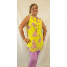 Bluse lemon varied